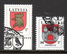 Latvia - 1996 Coats of arms - Mi. 438-39 FU