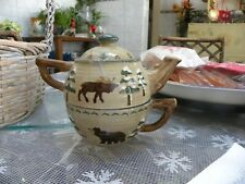 "Teapot For One 6"" X 7 1/2"" Sonoma Lodge"