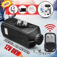 2020 8000W Diesel Air Heater 8KW 12V Remote For Motorhome Trucks Boats Silencer