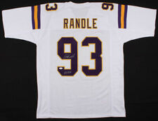 "John Randle Signed Minnesota Vikings Jersey Inscribed ""HOF 10"" (JSA COA)"