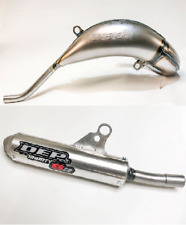 New DEP KTM SX 125 150 19-20 2 Stroke Front Exhaust Pipe Rear Silencer Combo MK2