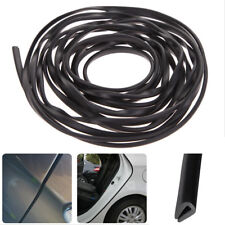 2M Car Auto Door Edge Protector Black U-shaped Rubber Trim Moulding Strip Seal