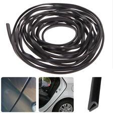 2M Car Auto Door Edge Protector Black U-shaped Rubber Trim Moulding Strip Seal
