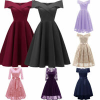 Women Wedding Bridesmaid Long Evening Party Ball Prom Gown Cocktail Dress Lots