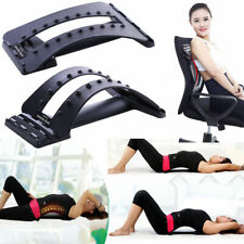 Lumbar Support Back Massage Magic Stretcher Fitness Relax Stretch Mate Y8S6