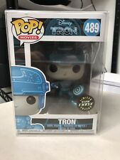 Funko Pop Tron Disney #489 Glows In The Dark Chase Limited w/ Free Protector