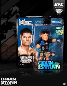 Round 5 UFC Series 12 LE Action Figure-Brian Stann-WEC Championship Edition