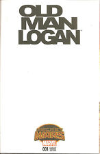 Old Man Logan #1   Blank Variant  Cover  SWA