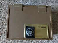 Vintage Melink Hercules Steel Combination Safe-T-Vault