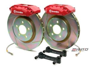 Brembo Front GT BBK Brake 4pot Red 310x25 Drill Disc Rotor MX5 Miata NCEC 06-13