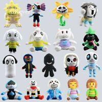 Undertale Plush Doll Sans Papyrus Frisk Chara Temmie Stuffed Toys Kids Gift