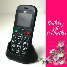 Senior Old People Mobile Phone Big Dial Buttons Ideal Birthday Gift for Mother