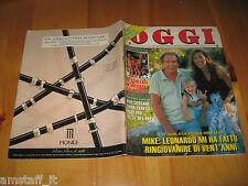 OGGI 1990/33=MIKE BONGIORNO=ORIANA FALLACI=ENZO BIAGI=ASCALONA=SCHIAVONEA=
