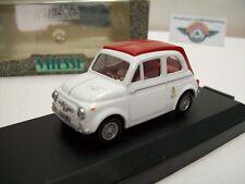 FIAT ABARTH 695 SS, Bianco/Rosso, 1964, Vitesse 1:43, OVP