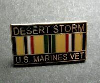 Desert Storm Marine Veteran Vet USMC Marines United States Lapel Pin Badge 1 in