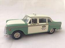 Small Wheels Western Models LTD  WMS 55TC Checker Cab Taxi (Chicago)