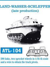 1/35 Friulmodel ATL-104 LAND WASSER-SCHLEPPER late production-Friul Metal Track