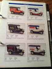 Early 2000s Oxford Die-Cast Price List and Model Catalog - Illustrated in color