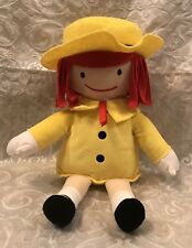 Kohl's Cares Madeline Stuffed Plush Doll Approx 14� Tall, yellow coat and hat