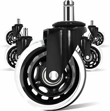 5 Pack 3 Replacement Swivel Casters 10mm Stem Wheels Only Fit Ikea Chair