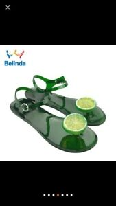 Womens jelly fruit  sandals