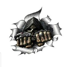 Totenkopf..Skull ..GAME OVER.. Autoaufkleber Sticker ...Cool..