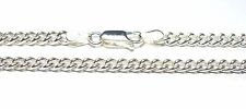 Sterling Silver 925 Hallmarked 22 inch Traditional Curb Link Chain Mens / Ladies
