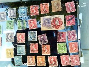 §§§ lot  de  timbres  USA  A  ETUDIER  SURCHARGES  RARE  §§§