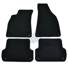 4 CARPET FLOOR AUDI A4 8E B6 B7 2000-2007 S4 RS4 S LINE MAT BLACK CUSTOM-MADE
