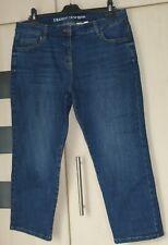 Next Dark Straight Crop Jeans Size 16 reg. Good Condition