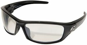 Edge Reclus Safety Glasses with Black Frame and Indoor/Outdoor Lens ANSI Z87