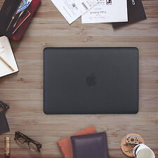 "[Classical Black] Half See-Through Hard Shell Case Cover for Macbook Air 13""13.3"