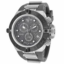 New Mens Invicta 16140 Subaqua Swiss Made Chronograph Gray Rubber Sport Watch