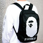 A Bathing Ape Bape Head Backpack Bag From Japan Magazine New