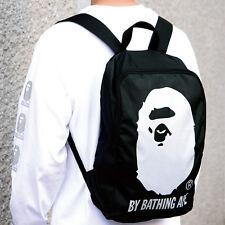 A Bathing Ape Bape Head Backpack Bag From Japan Magazine New