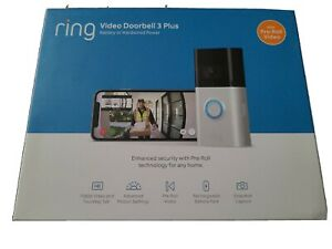 Ring Video Doorbell 3 Plus | NEW, SEALED IN BOX