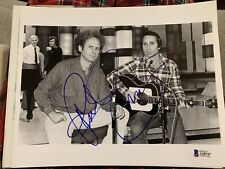 Beckett certified Paul Simon signed photo BAS And Garfunkel Musician