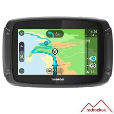 TomTom Rider 42 Motorcycle Sat Nav - Full Europe - Free Lifetime Maps & Traffic