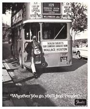 Fender Guitars *LARGE POSTER* 1967 Promo Ad JAZZMASTER  - San Fran MUST SEE