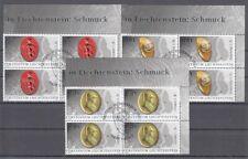 Liechtenstein 1779 - 81 Archéologique Funde Bijoux Bloc de Quatre Lot Oo