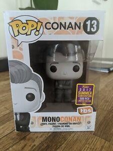 Rare CONAN Funko Pop SDCC 2017 #13 MonoConan!! Great Condition! 500 PCS Limited
