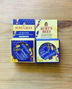 Burt's Bees Lip Butter Lavender & Honey Lip Butter 0.4oz Lot Of 2 NEW