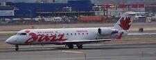 CRJ200 Jazz Air Canada Airplane Handcrafted Wood Model Regular New
