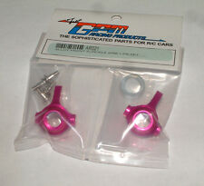 TEAM ASSOCIATED RC18T MT GPM FRONT KNUCKLE HUB ALUMINUM PINK AR021