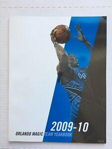 Orlando Magic 2009-10 Official Yearbook EX Condition DM1