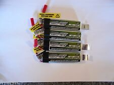 4-Turnigy nano-tech 600mah 1S 35~70C Lipo (Nine Eagles Solo Pro 328,Eflite MQX)