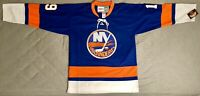 1976 Bryan Trottier New York Islanders Blue Jersey Size Men's Large