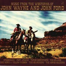 Music From The Westerns Of John Wayne & John Ford (2009, CD NEU)