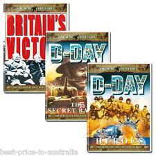 The War Collection D-DAY: HEROES+SECRET BATTLE+BRITAIN'S VICTORY IN EUROPE 3-DVD