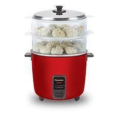 Panasonic SR-WA18HSS 1.8L Rice Cooker/ MOMO Maker/ Automatic Cooker